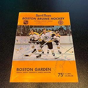 1971 72 Chicago Blackhawks Team Signed NHL Program With SGC COA Autographed NHL Magazines