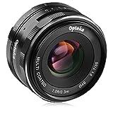 Opteka 35mm f/1.7 HD MC Manual Focus Prime Lens for Panasonic Micro 4/3 Mount Digital Cameras