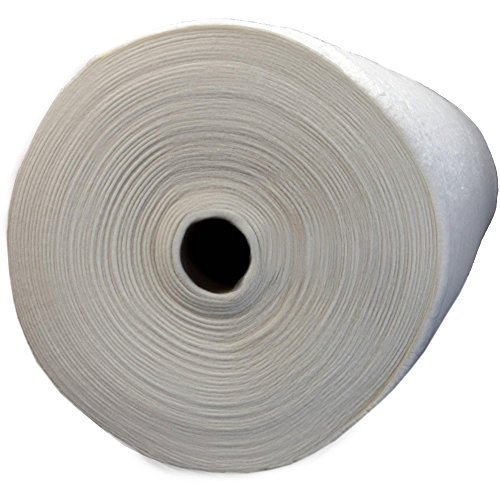 Lightweight and Breathable, Natures Touch Natural Blend 80/20 Batting with Scrim, 96'' Wide, 30 Yard Roll, White by Pellon