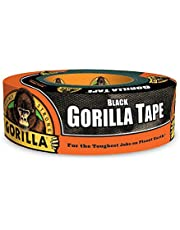 "CPI MANUFACTURING 6035240 Gorilla 6035180  Tape, Black Duct Tape, 1.88"" x 35 yd, Black"