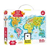 Banana Panda - What in the World Young Explorers - Jigsaw Puzzle and Learning Activity for Kids Ages 6 Years and Up