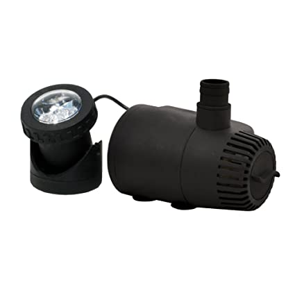 170 Gph Low Water Shut Off Technology High Quality Fountain Pump Silent Design Pumps (water) Fish & Aquariums