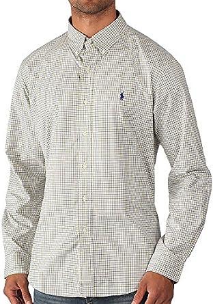 Ralph Lauren – Camisa de Hombre – Pequeño, diseño de Cuadros ...
