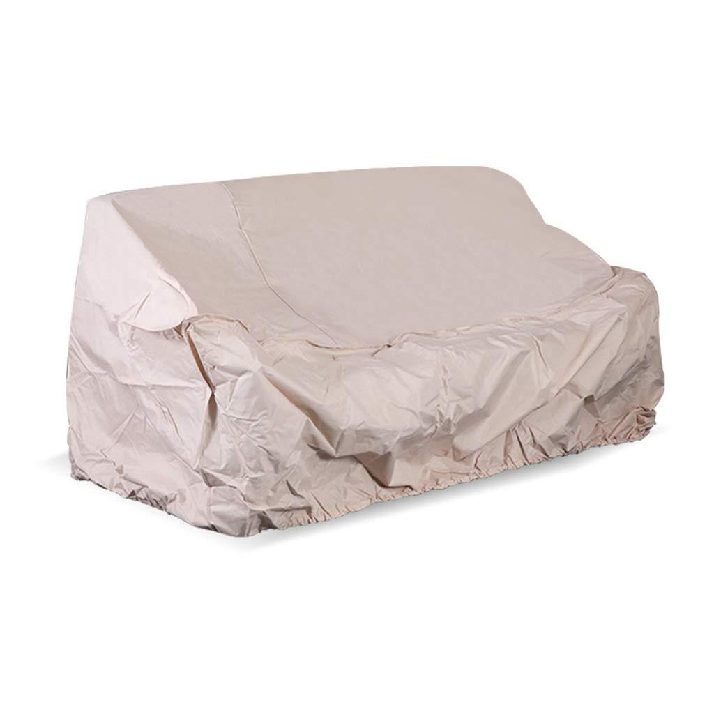 Copertura Impermeabile del Banco del Giardino,Protezione Resistente E Traspirante Resistente del Tessuto per Le Panchine A 2 Posti Copertura Profonda della Mobilia del Sedile