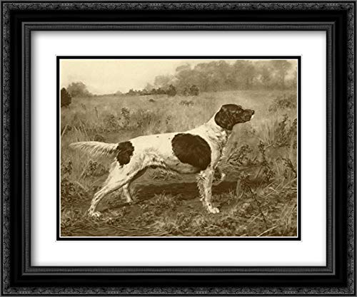 Rowdy Rod 24x20 Black Ornate Frame and Double Matted Art Print by Tracey, J.M.