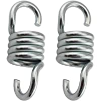 haowei 2 Pack Anti-Noise Hanger Hanger Chair Spring Swing Spring Hook Suitable for Outdoor Family (Large Size)