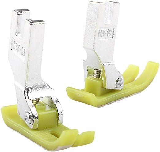 LEIXNDPLBO Acolchado de Cuero para el hogar Guía para Caminar máquina de Coser Pesser Foot Tools Pesser Foot: Amazon.es: Hogar