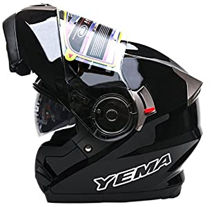 Yema Casque Moto Modulable Homme Ece Homologué Ym 925 Casque