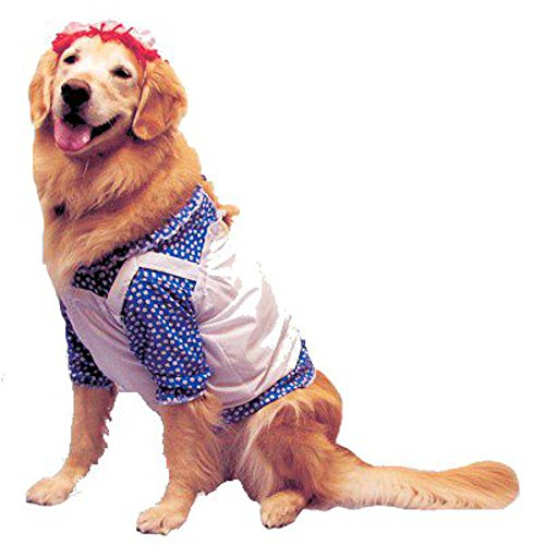 Pet Raggedy Ann Dog Costume For Medium
