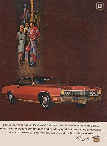 Cadillac Fleetwood Wheel (1969 Cadillac Fleetwood Eldorado: Front Wheel Drive, Cadillac Print Ad)