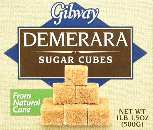 (Gilway Demerara Sugar Cubes , 17.5 Ounce (Pack of 2) )