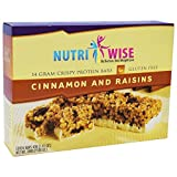 NutriWise – Cinnamon & Raisins Diet Protein Bars (7 bars) Review