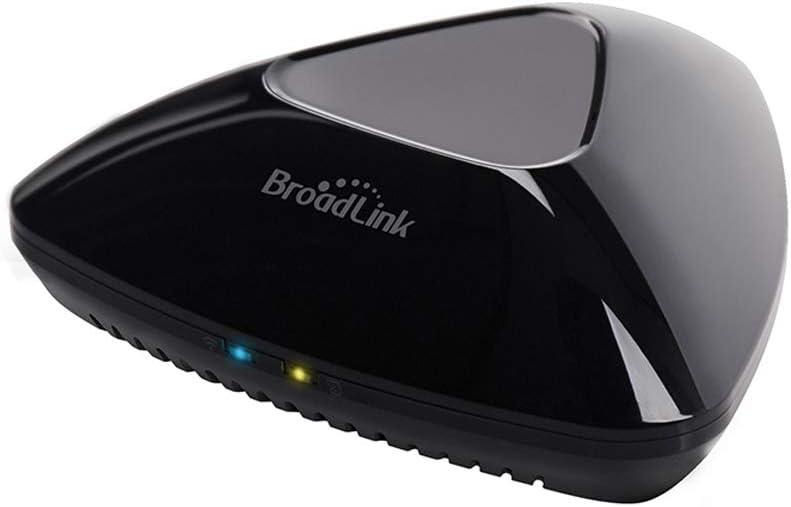 BroadLink 2019 RM Pro WiFi Inicio Smart Hub, IR RF Todo en Uno Automatización Aprendizaje Control Remoto Universal Compatible para teléfonos Inteligentes Apple Android
