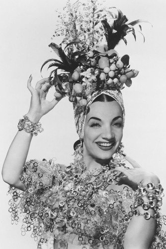 5d0d77c2b96 Carmen Miranda classic pose with fruit hat 24x36 Poster at Amazon s  Entertainment Collectibles Store