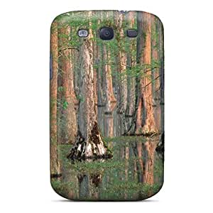 Galaxy S3 Case, Premium Protective Case With Awesome Look - Cypress Trees South Carolina - 1600x1200 - 2