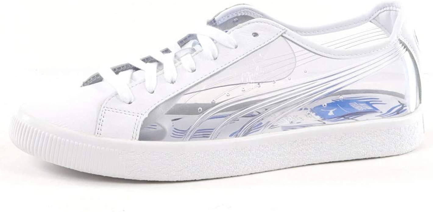 Puma Clyde Clear SM: Amazon.co.uk