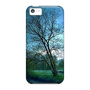 BretPrice Iphone 5c Hybrid Tpu Case Cover Silicon Bumper River Side Tree by lolosakes