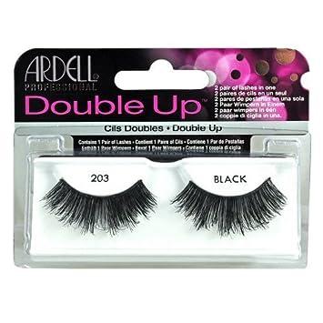 6808880d701 Ardell Double Up #203 False Eyelashes, Black: Amazon.ca: Beauty