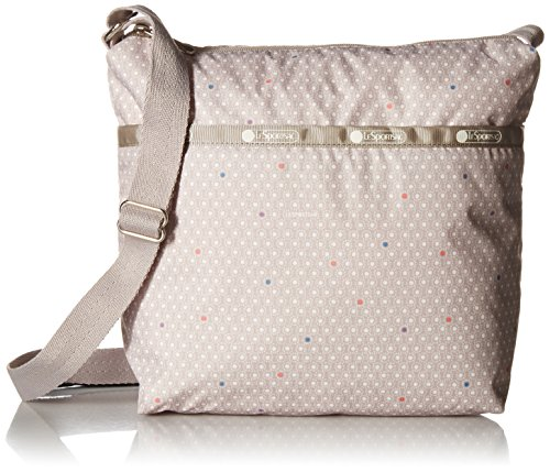 LeSportsac Classic Small Cleo Crossbody Hobo,Comet,One Size (Dot Polka Hobo Handbag)