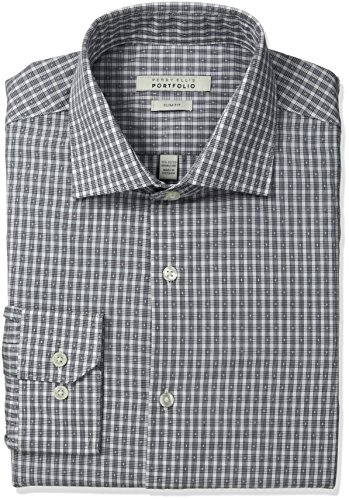 Perry Ellis Wrinkle Classic Adjustable