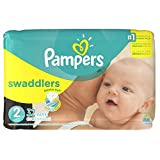 Pampers Swaddlers Disposable Diapers Size 2, 32 Count, JUMBO