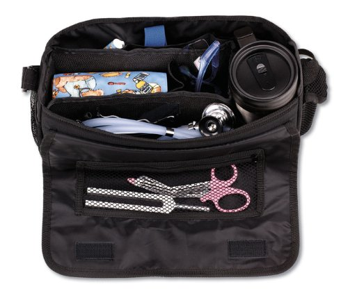 Prestige Medical Nurse's Car-GO Bag, Black (Adc Nylon Medical Bag)