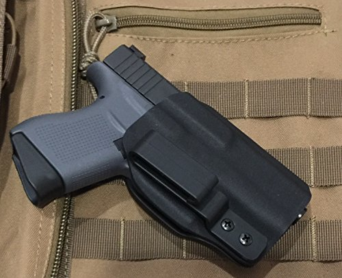 9. MIE Productions Kydex (IWB/AIWB Holster for Glock 43)