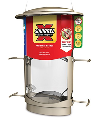 Supa Squirrel X-1 Squirrel Proof Bird Feeder