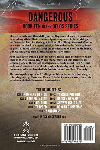 Dangerous Delos Series Book 10 Lindsay McKenna 9781929977642 Books