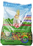 Kaytee KY47721 Exact Rainbow Premium Daily Nutrition for Cockatiels, 3-Pound Bag