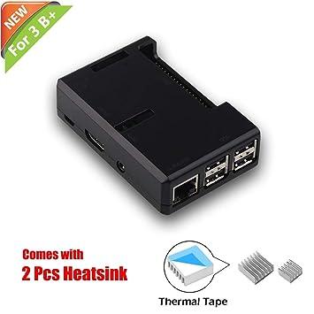 Amazon.com: iUniker - Carcasa para Raspberry Pi 3, modelo B ...