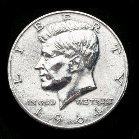 Replica Jumbo (3 inch) 1964 Half Dollar Coin - Novelty (Coins Jumbo)