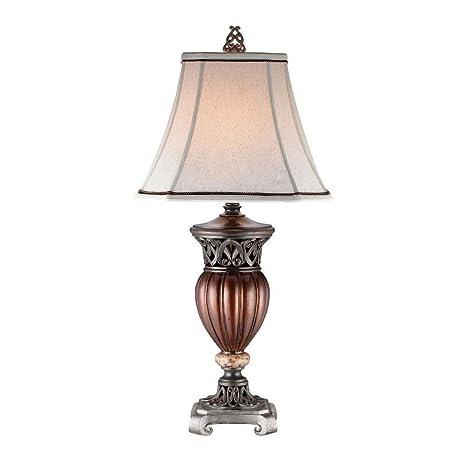 Amazon.com: OK iluminación 32 en. Color de Madera lámpara de ...