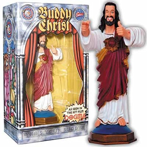 MyPartyShirt Buddy Christ Dogma Dashboard Figure