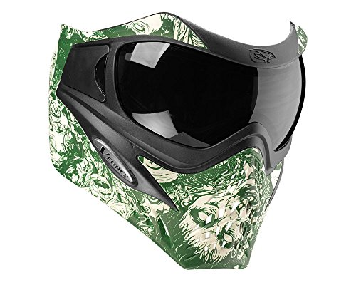 V-Force Grill Paintball Mask SE Zombie Green by GI Sportz