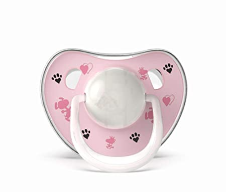 TINERS Baby Chupete Newborn Chupete 6-18 Meses,Pink: Amazon.es: Hogar
