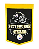 Winning Streak Pittsburgh Steelers Official NFL 12'' x 18'' Revolution Traditions Wall Banner 612402