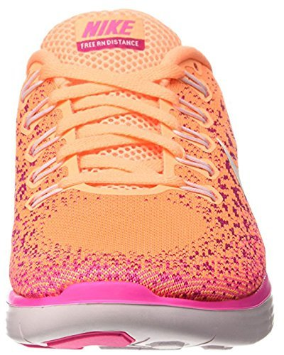 newest 36d59 95a83 Galleon - Nike Womens Free Rn Distance Running Shoe (10.5 B(M) US, Peach  Cream Pearl Pink-fire Pink)