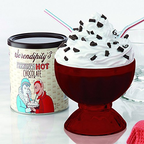 Full Red ColorSerendipity Frozen Hot Chocolate Party Gift Box (as seen on