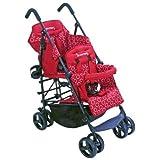 Kinderwagon Hop Tandem Stroller - Red by Kinderwagon