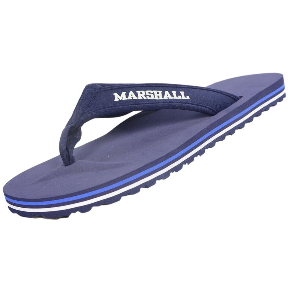 Franklin & Marshall - Sandalias de Vestir para Hombre Azul Azul Marino 39/40 EU|Azul Marino
