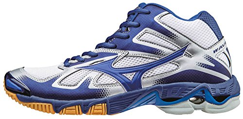 Shoes Bolt Dazzlingblue White Volleyball Men Twilightblue White Wave Mizuno Mid 7wT4wg