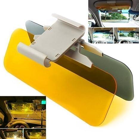 Gearmax 2 In 1 Transparent Auto Sonnenschutz Sichtschutz Fahren Sonnenblende Für Tag Und Nacht Küche Haushalt