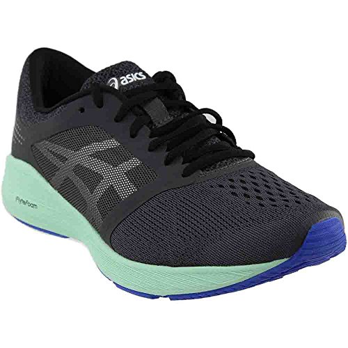 Asics Roadhawk Ff Running Shoe   Womens Dark Grey Silver Glacier Sea  9 0