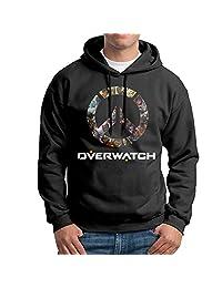 SARAH Men's Overwatch OW Logo Hoodie