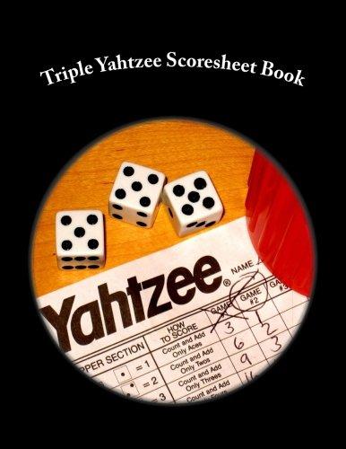 (Triple Yahtzee Scoresheet Book: 100 Pages (50 sheets))