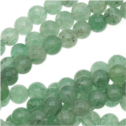 Light Green Aventurine Smooth Round Beads 3mm/16 Inch (Aventurine Beads 16 Inch Strand)