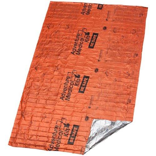 Adventure Medical Heatsheets Survival Blanket Two Person Orange, One Size Heatsheet 2 Person