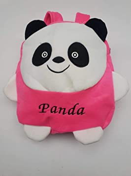 Jassi Toy Kids School/Nursery/Picnic/Carry/Travelling Bag - (Pink Panda)