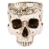Hatop Halloween skull simulation of high-grade resin pots hollow skull ashtray